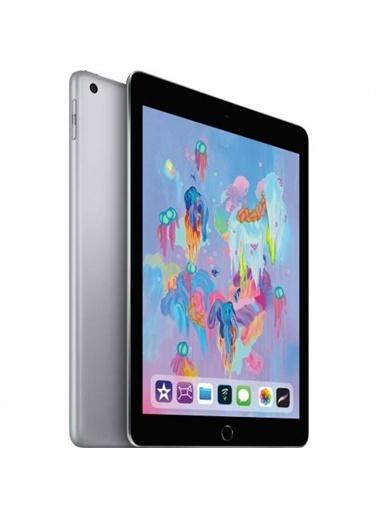 """Apple İpad 6.Nesil 32Gb 9.7"""" Wi-Fi + Cellular 4G Ips Tablet - Uzay Grisi Mr6N2Tu/A Renkli"""
